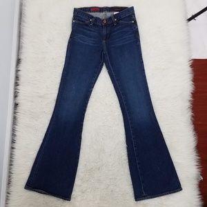 AG The Legend Flare Jeans Sz 27R Blue C6